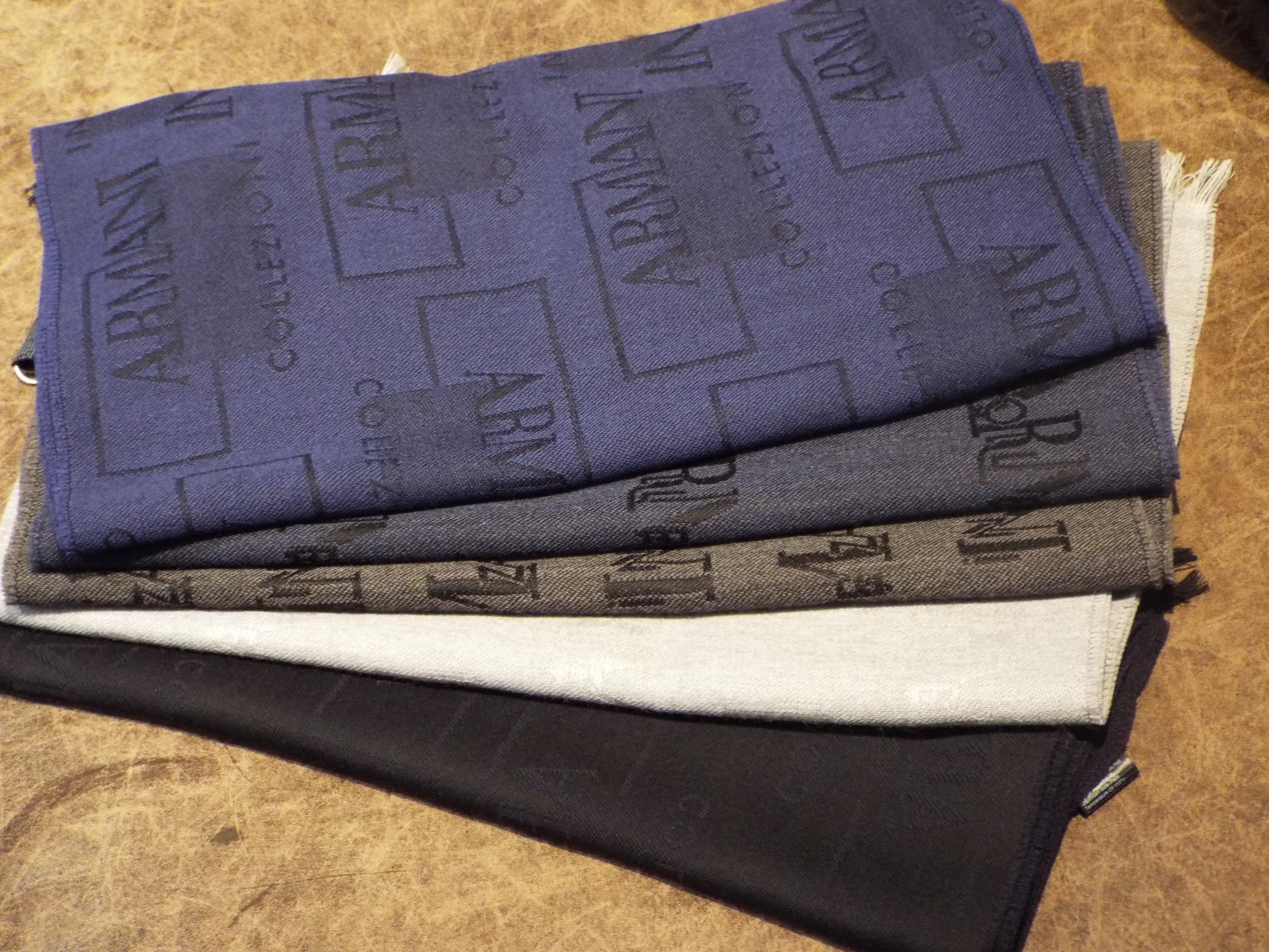esigner menswear christmas gifts for men armani scarves