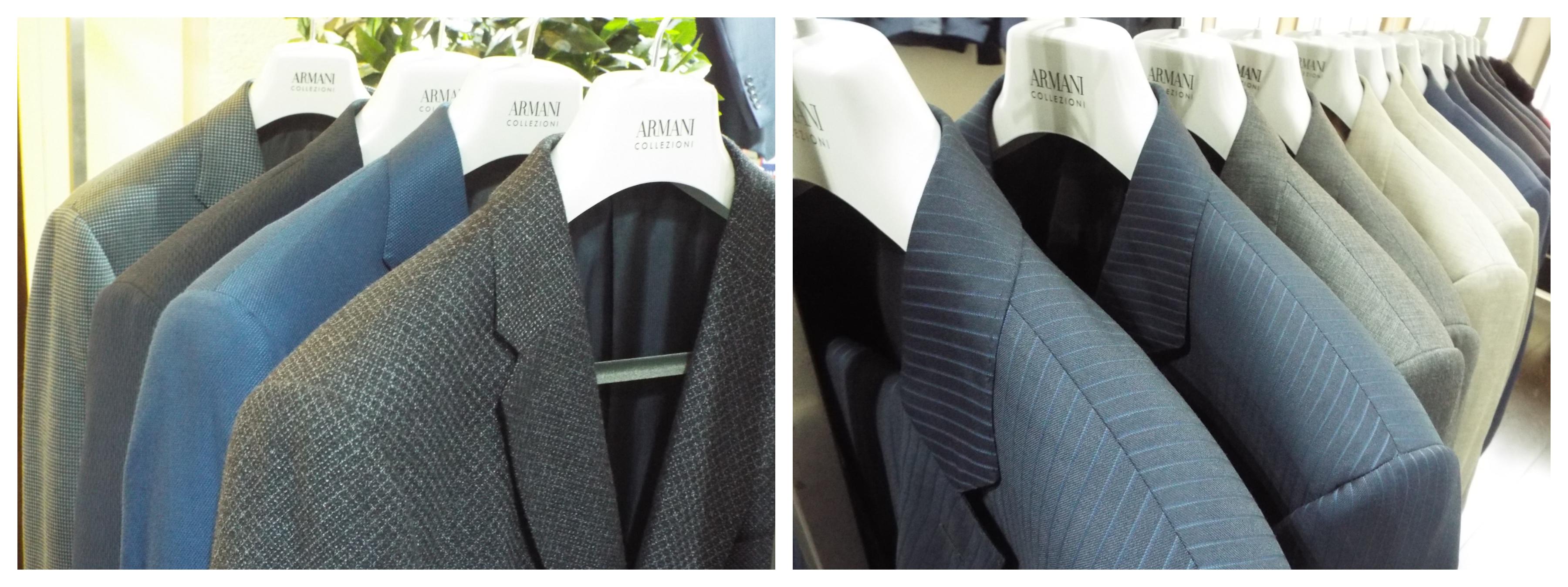 desinger menswear sale armani suits