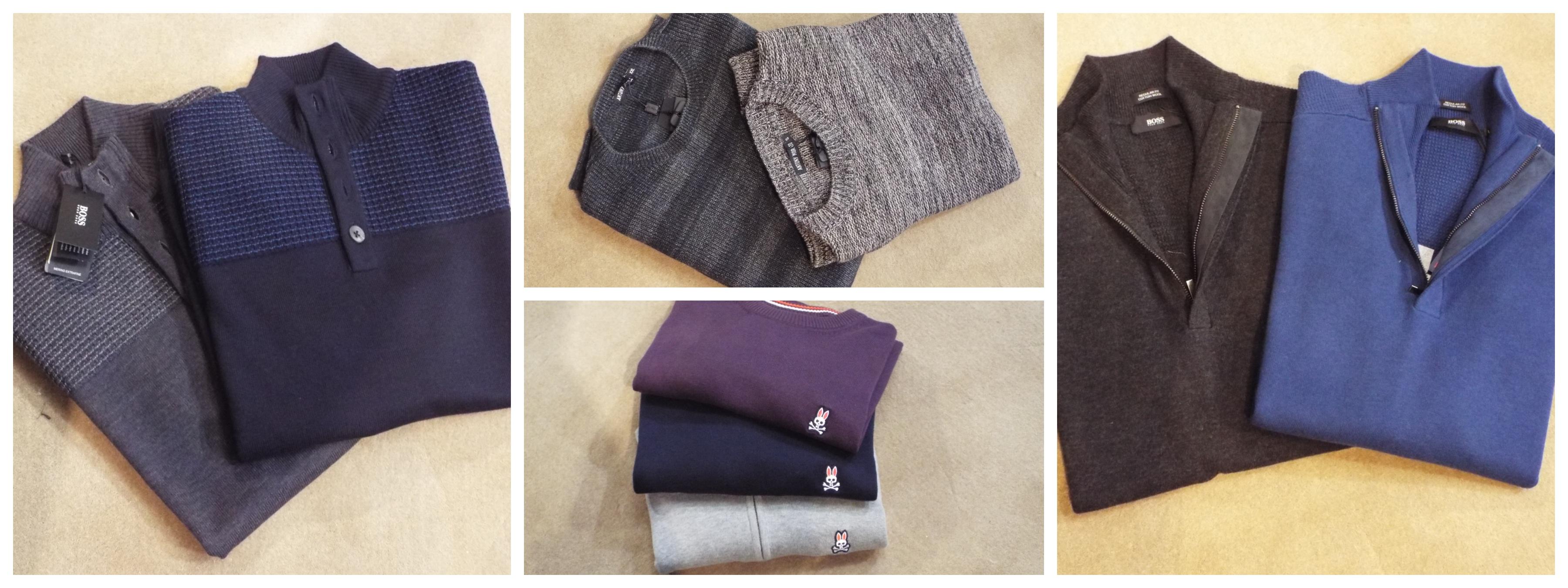 Knitwear collage