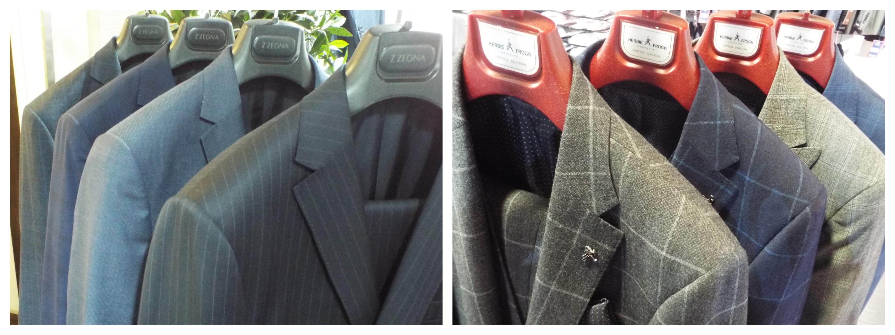 desinger menswear sale Zegna Frogg Suit