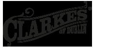 clarkes of dublin logo Irish menswear desinger