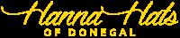 hanna hats logo irish menswear designer